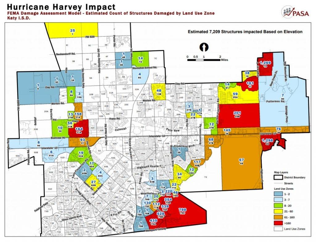 Katy Flood Zones - Map Of Cinco Ranch Texas
