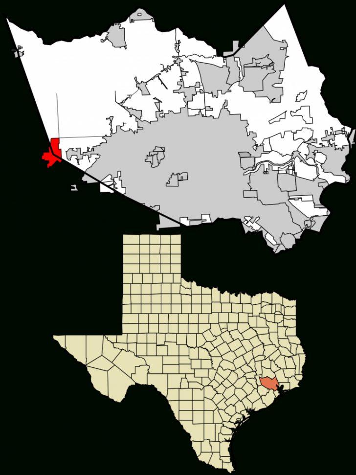 Map Of Richmond Texas Area