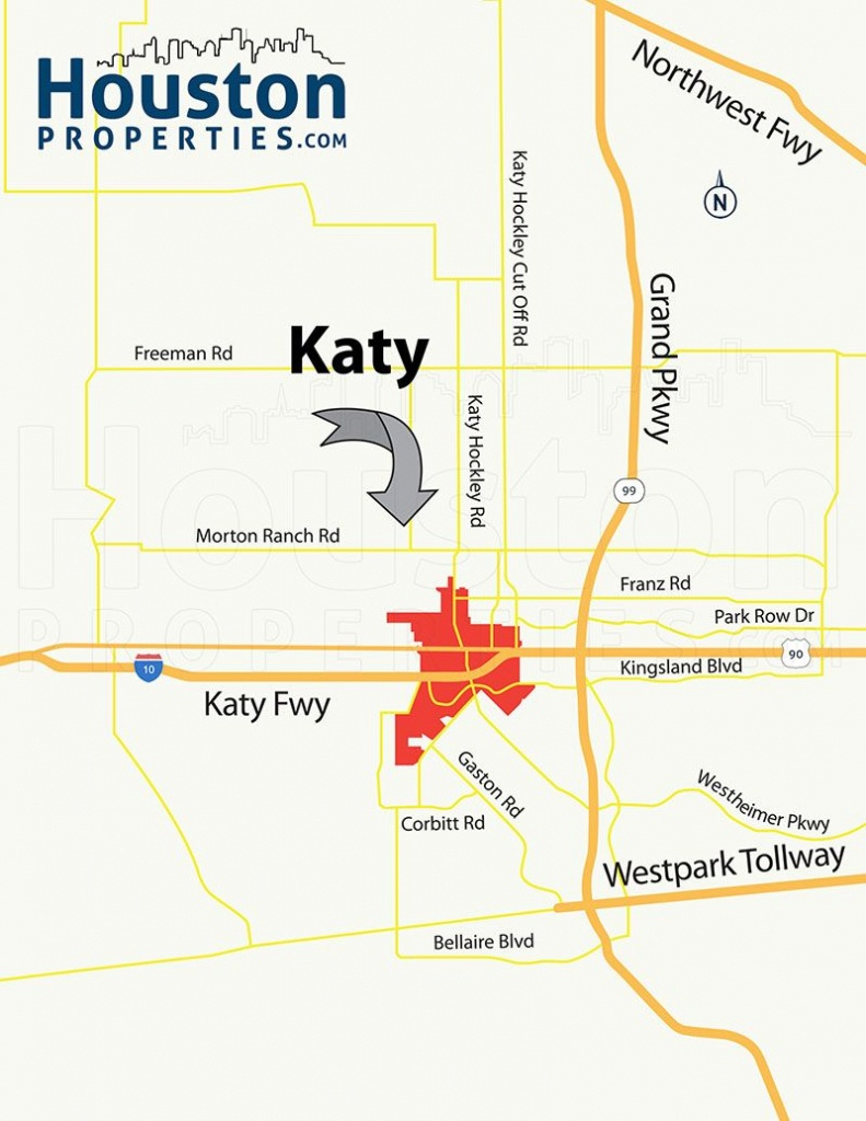 Katy Tx Map | Great Maps Of Houston | Houston Real Estate, Real - Katy Texas Map