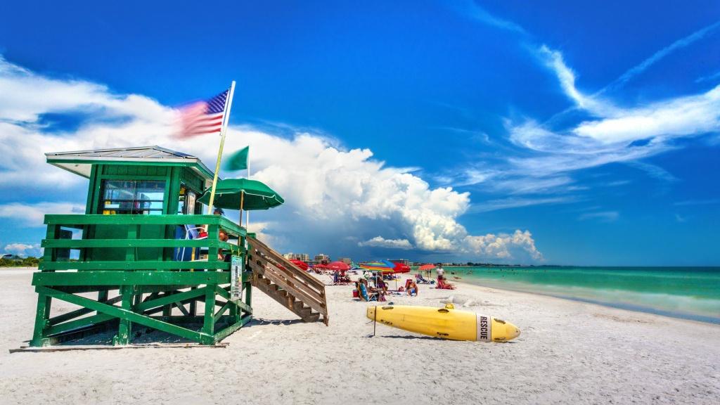 Kid-Friendly Attractions On Siesta Key, Florida [With A Map] - Siesta Key Beach Florida Map