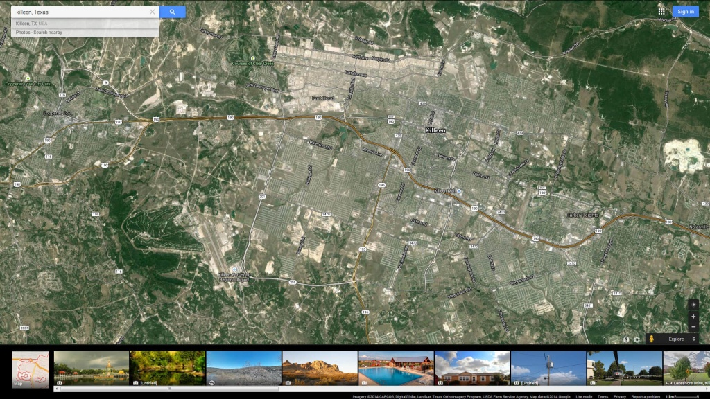 Killeen, Texas Map - Google Maps Killeen Texas