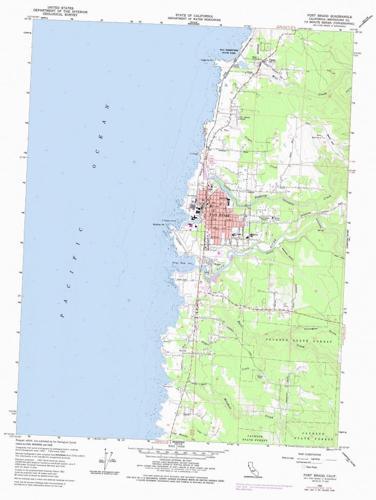 Koa Campgrounds California Map Fort Bragg Map Lovely Harbor Rv Park - California Campgrounds Map