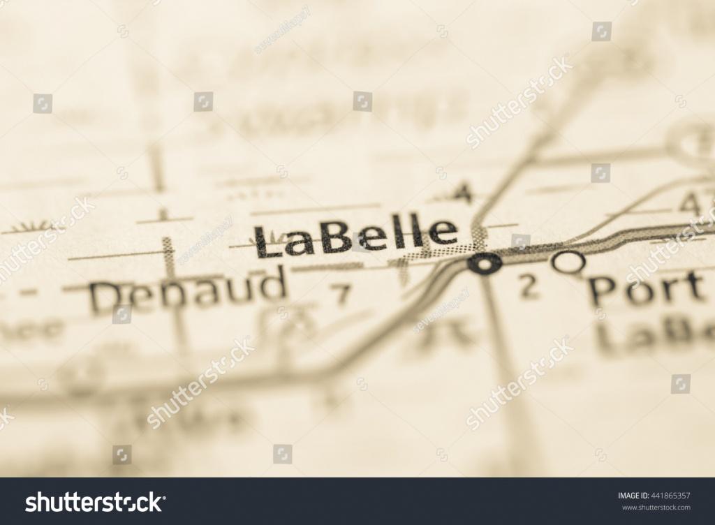 La Belle Florida Usa Stock Photo (Edit Now) 441865357 - Shutterstock - Labelle Florida Map