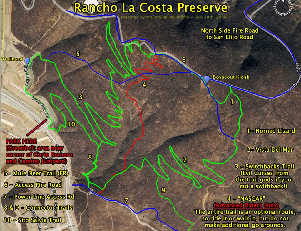 La Costa California Map   Autobedrijfmaatje - La Costa California Map