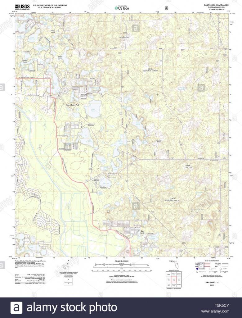 Lake Mary Florida Stock Photos & Lake Mary Florida Stock Images - Alamy - Lake Mary Florida Map