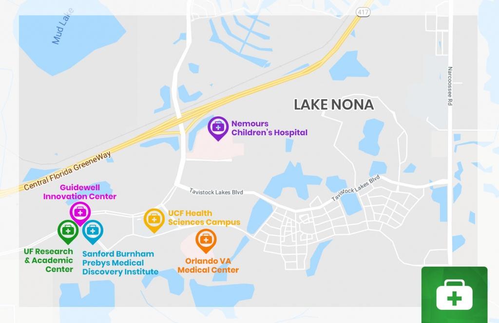 Lake-Nona-Medical-City-Map | Orlando New Home Experts - Lake Nona Florida Map