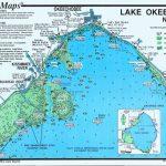 Lake Okeechobee Map | Lake Okeechobee North (North End & Lakeport   Fishing Map Of Lake Okeechobee Florida