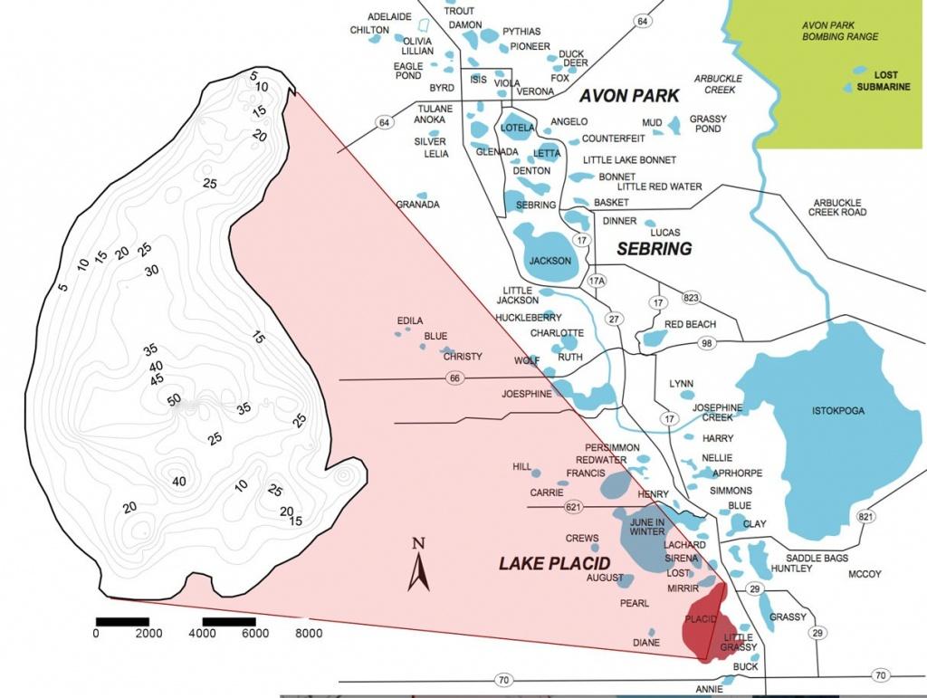 Lake Profile: Lake Placid | Coastal Angler & The Angler Magazine - Fishing Map Of Lake Okeechobee Florida