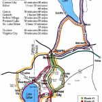 Lake Tahoe Area Maps | Detailed Lake Tahoe Area Mapregion   South Lake Tahoe California Map