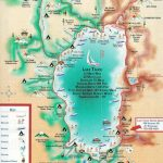 Lake Tahoe Map | California ~ Things To Do | Lake Tahoe Map, Lake   South Lake Tahoe California Map