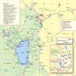 Lake Tahoe Maps And Reno Maps | Discover Reno Tahoe   Tahoe City California Map