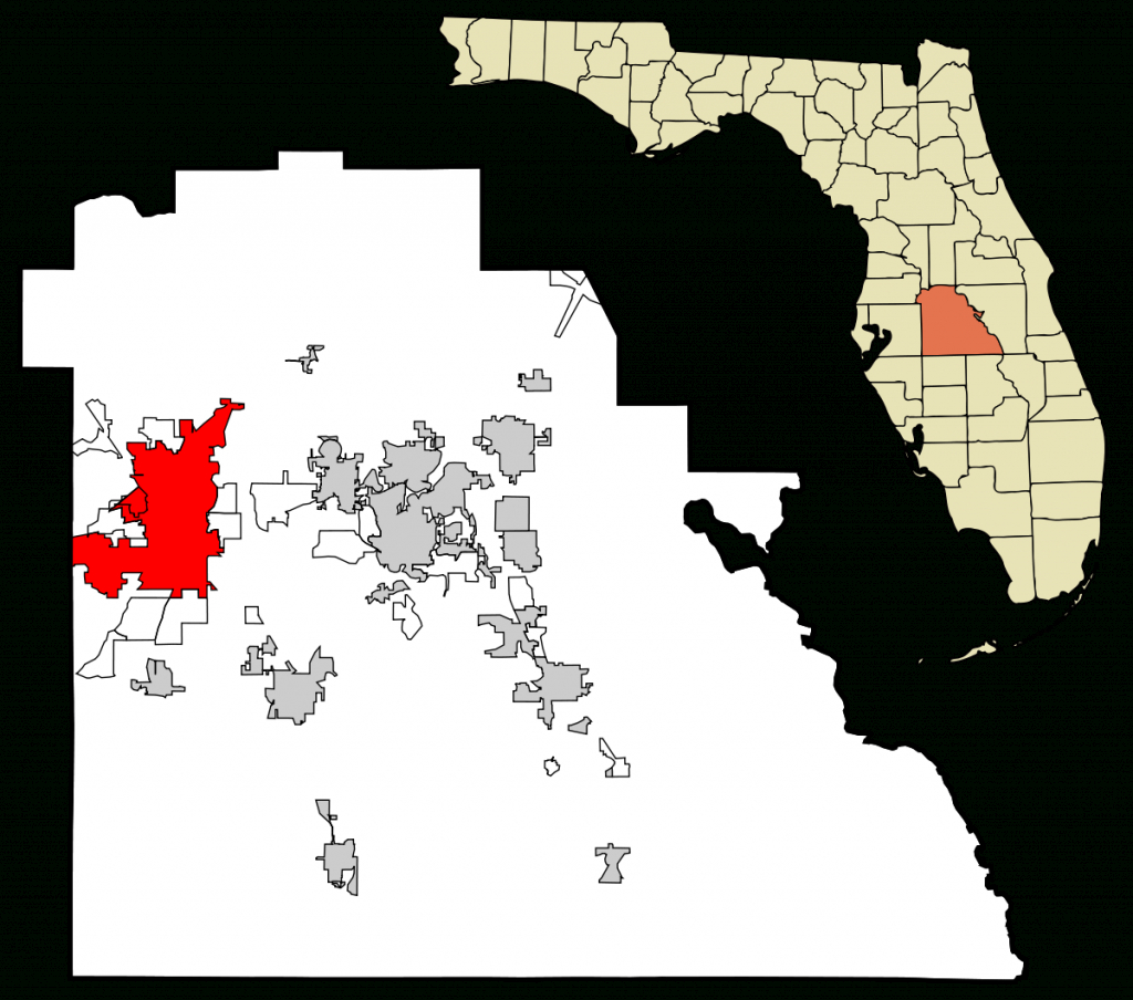 Lakeland, Florida - Wikipedia - Bears In Florida Map