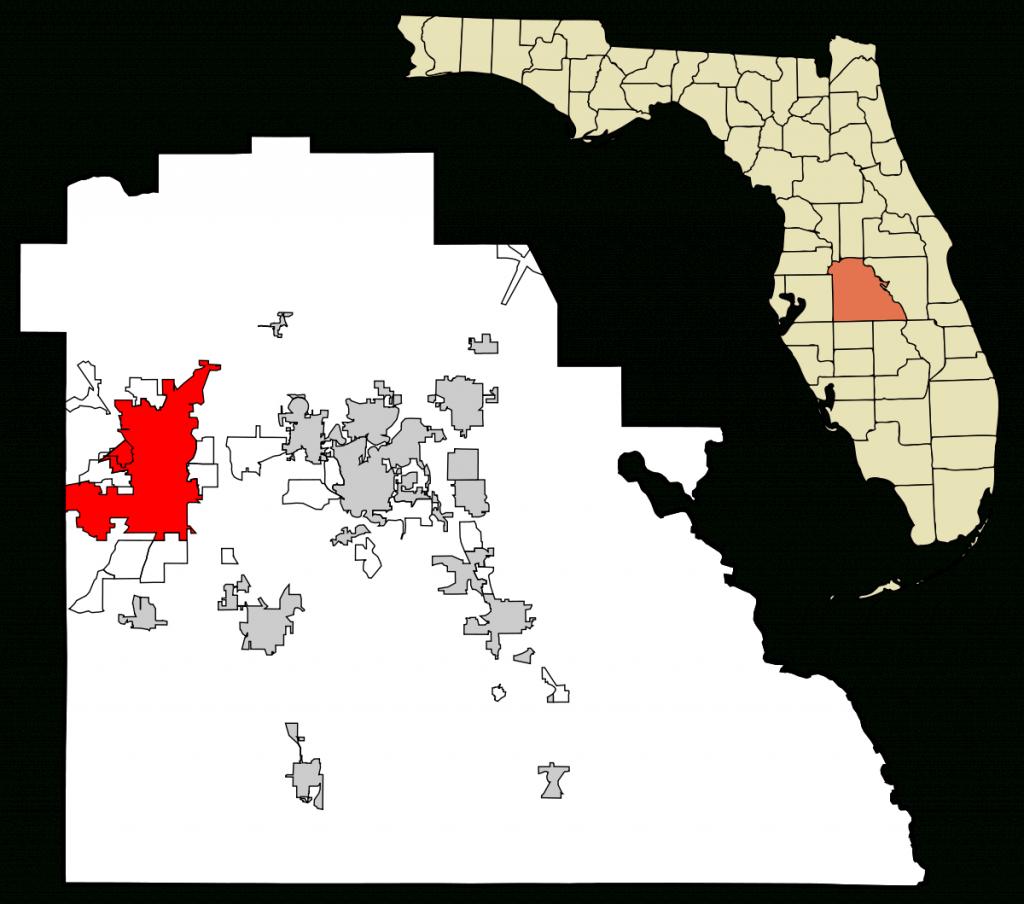 Lakeland, Florida - Wikipedia - Sun City Florida Map