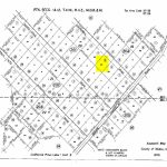 Land Rush Now | Plat Map Chaparral Rd. California Pines   California Parcel Map