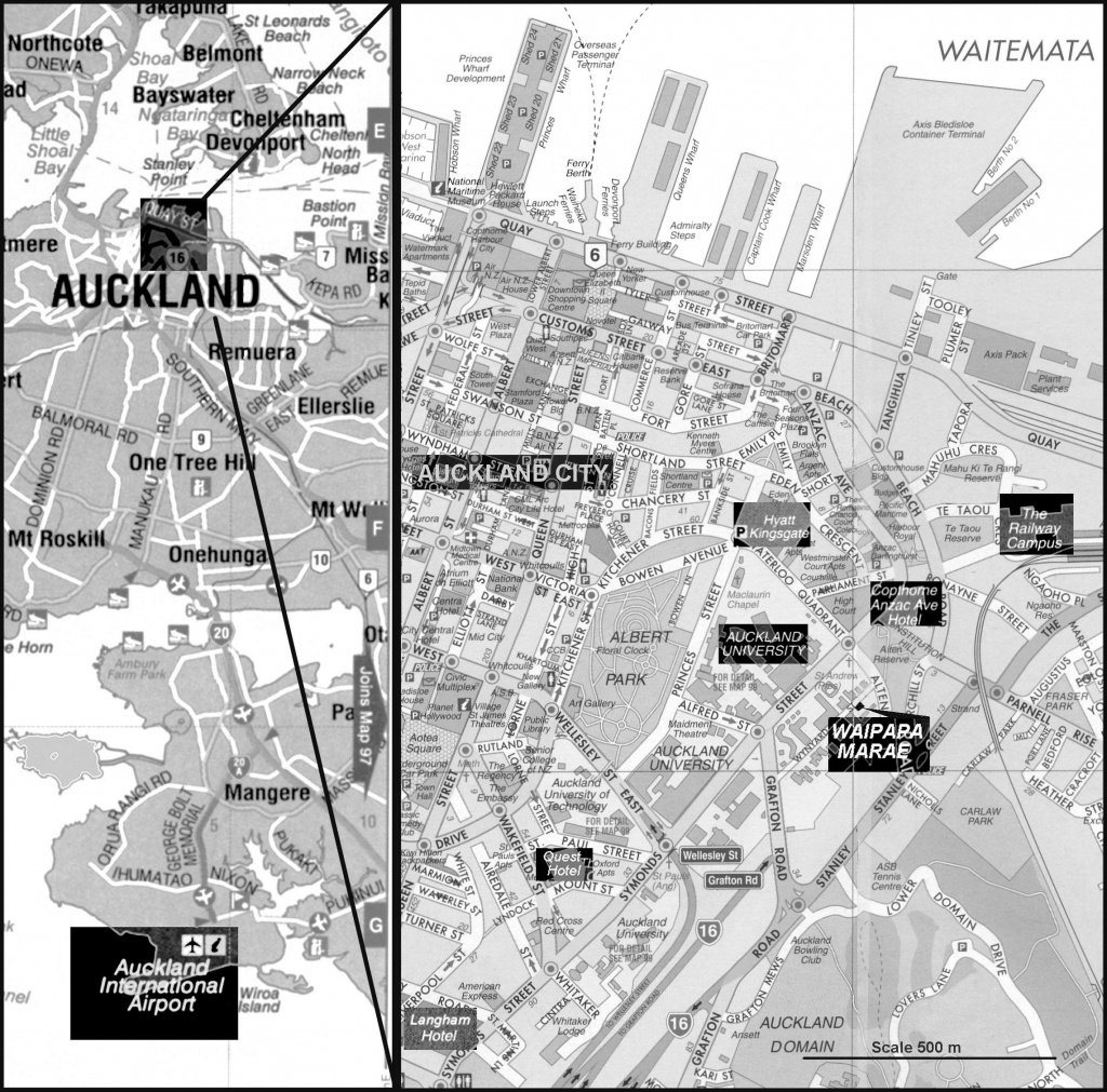 Large Auckland Maps For Free Download And Print | High-Resolution - Printable Map Of Auckland