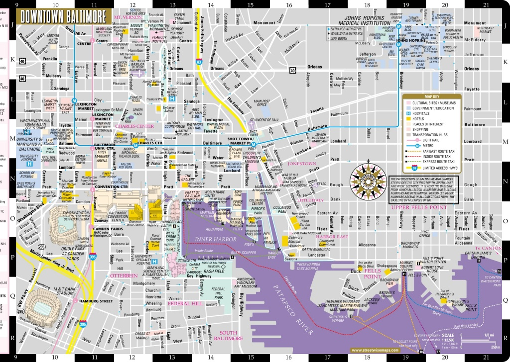 Large Baltimore Maps For Free Download And Print   High-Resolution - Printable Map Of Baltimore
