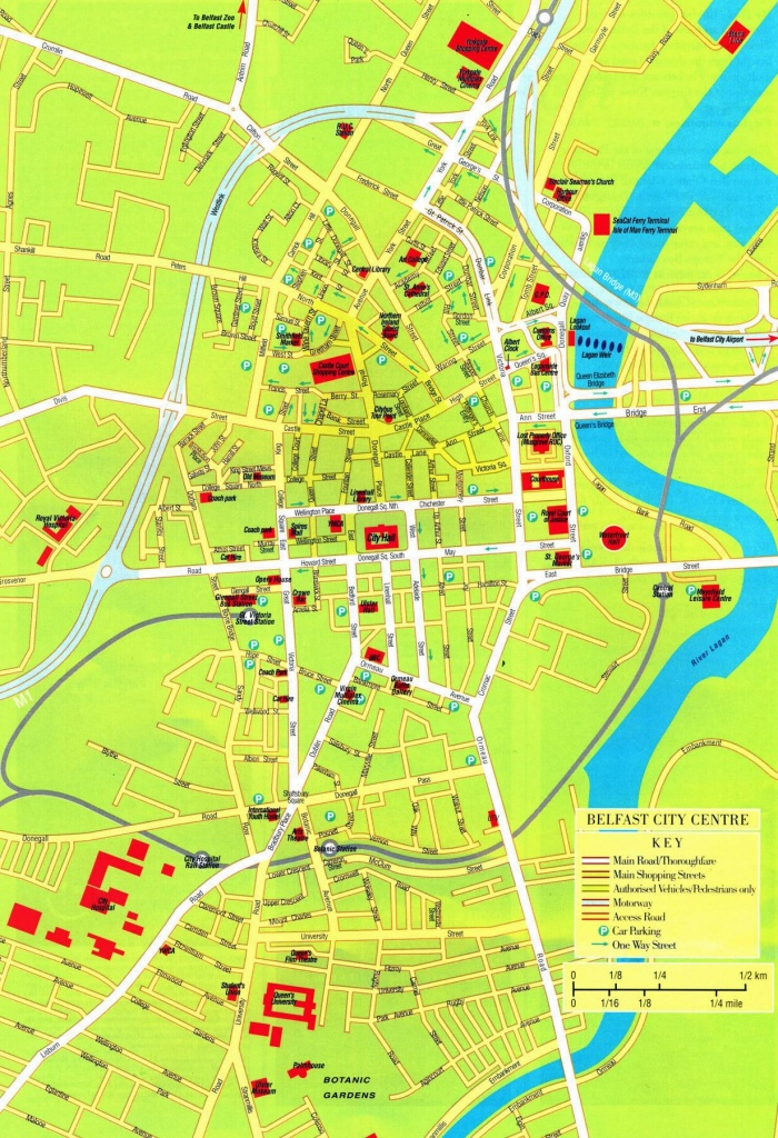 Large Belfast Maps For Free Download And Print | High-Resolution And - Belfast City Centre Map Printable