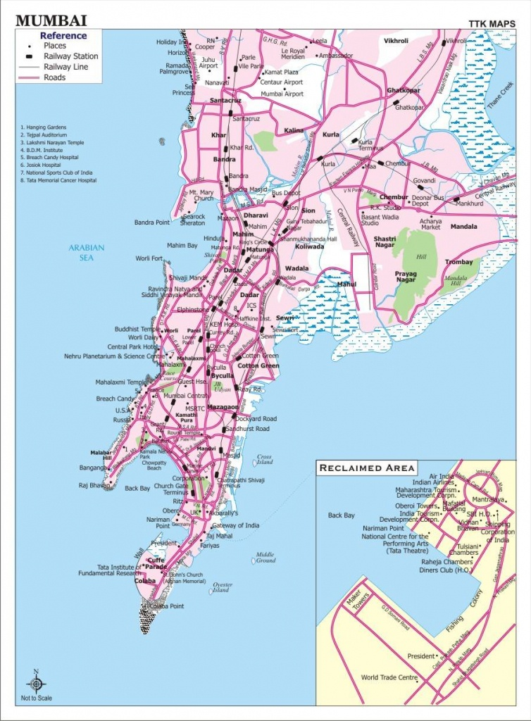 Large Bombay Maps For Free Download And Print | High-Resolution And - Printable Local Maps