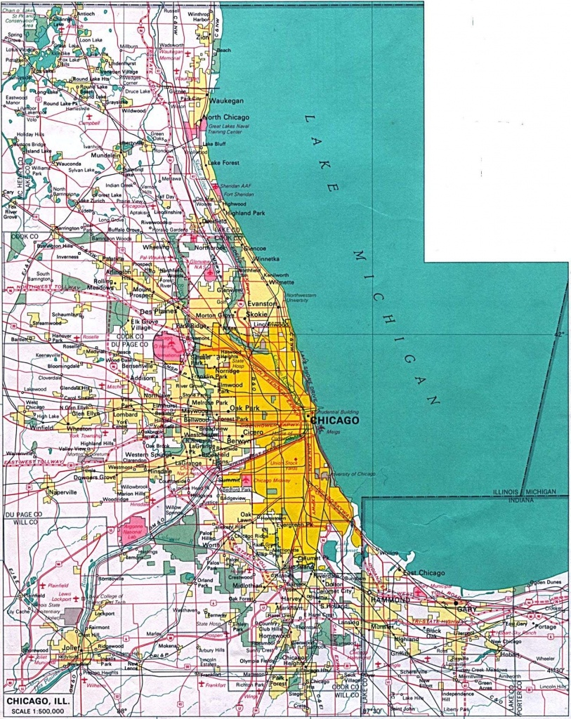 Large Chicago Maps For Free Download And Print | High-Resolution And - Chicago City Map Printable