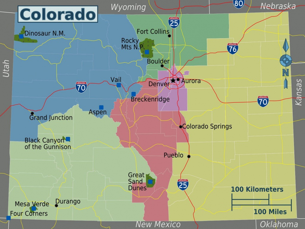 Large Colorado Maps For Free Download And Print | High-Resolution - Printable Map Of Colorado Springs