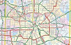 Printable Map Of Dallas