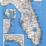 Large Detailed Administrative Map Of Florida State With Major Cities – Large Detailed Map Of Florida