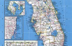 Large Detailed Map Of Florida
