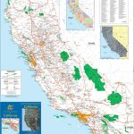 Large Detailed Map Of California With Cities And Towns   Show Me A Map Of California