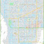 Large Detailed Map Of Cape Coral   Google Maps Cape Coral Florida