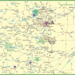 Large Detailed Map Of Colorado With Cities And Roads   Printable Map Of Colorado