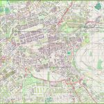 Large Detailed Map Of Edinburgh   Edinburgh Street Map Printable