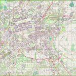 Large Detailed Map Of Edinburgh   Edinburgh Street Map Printable