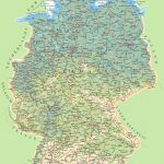 Large Detailed Map Of Germany   Large Printable Map Of Germany