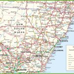 Large Detailed Map Of New South Wales With Cities And Towns   Printable Map Of Newcastle Nsw