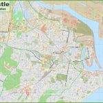Large Detailed Map Of Newcastle   Printable Map Of Newcastle Nsw