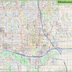 Large Detailed Map Of Oklahoma City   Printable Map Of Oklahoma