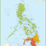 Large Detailed Map Of Philippines   Printable Map Of The Philippines