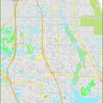 Large Detailed Map Of Port St. Lucie   Florida Map With Port St Lucie
