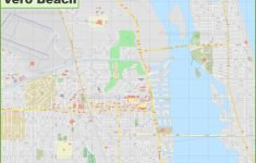 Large Detailed Map Of Vero Beach – Vero Beach Fl Map Of Florida