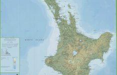 New Zealand North Island Map Printable