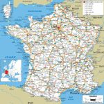 Large Detailed Road Map Of France With All Cities And Airports   Free Printable Road Maps