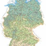 Large Detailed Road Map Of Germany With All Cities, Villages And   Large Printable Map Of Germany