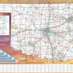 Large Detailed Road Map Of Oklahoma   Printable Map Of Oklahoma