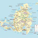 Large Detailed Road Map Of Saint Martin Island. St. Maarten Island   Printable Road Map Of St Maarten
