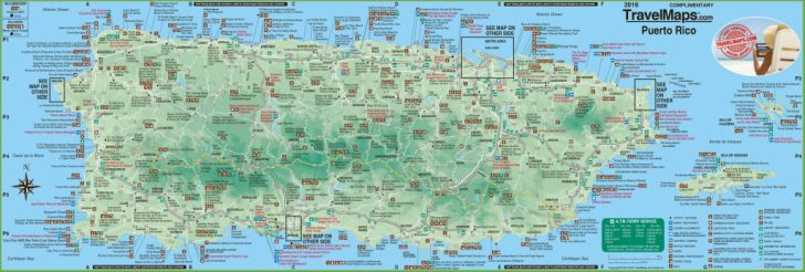 Free Printable Map Of Puerto Rico
