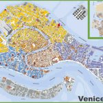 Large Detailed Tourist Map Of Venice   Venice Printable Tourist Map