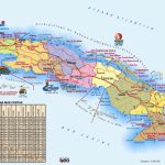 Large Detailed Travel Map Of Cuba   Printable Map Of Cuba