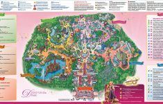Printable Disneyland Paris Map 2018