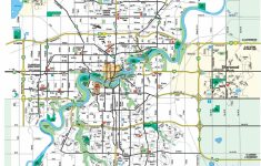 Large Edmonton Maps For Free Download And Print | High-Resolution – Printable Map Of Edmonton