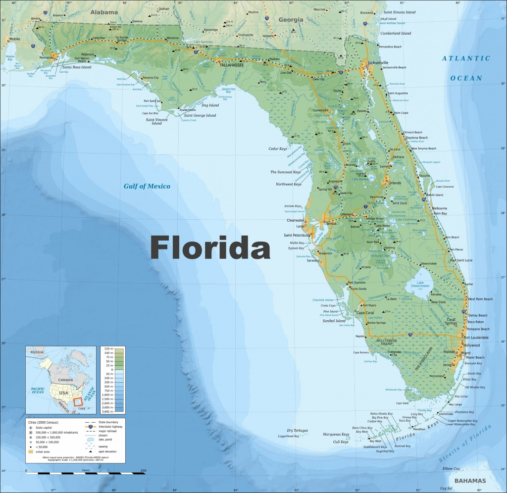 Large Florida Maps For Free Download And Print   High-Resolution And - Lake Wells Florida Map